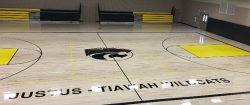 bball court- wildcats